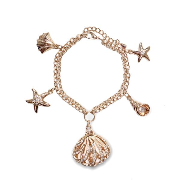Rose Gold Ocean Bracelet