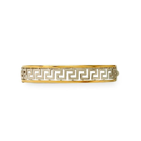 Two Tone Italian Inspired Bracelet
