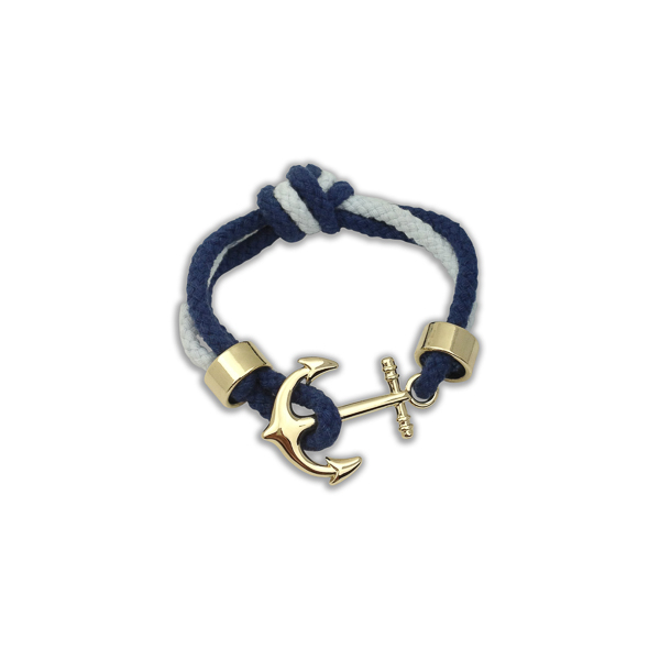 Gold Color Anchor Bracelet