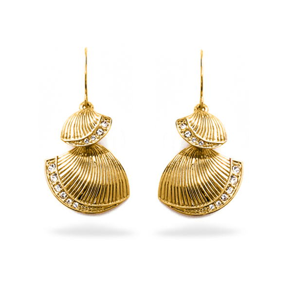 14K Gold Plated Sea Shell Earrings