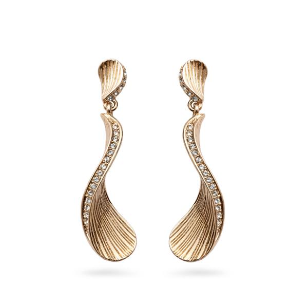 Rose Gold Plated Ocean Earrings