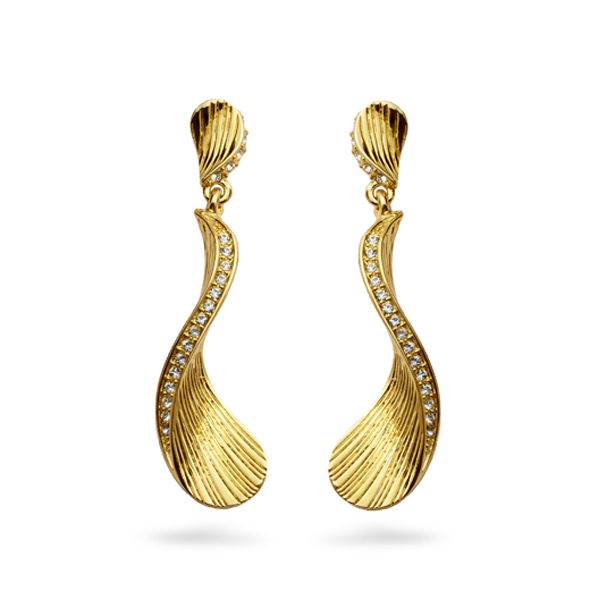 14K Gold Plated Ocean Earrings