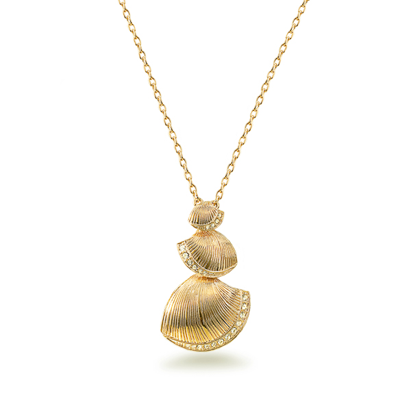 14K Gold Plated Sea Shell Necklace