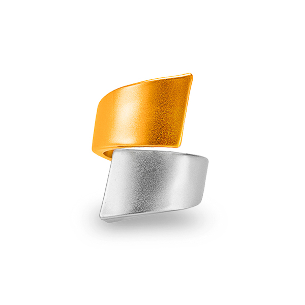 Two Tone Plated Ring