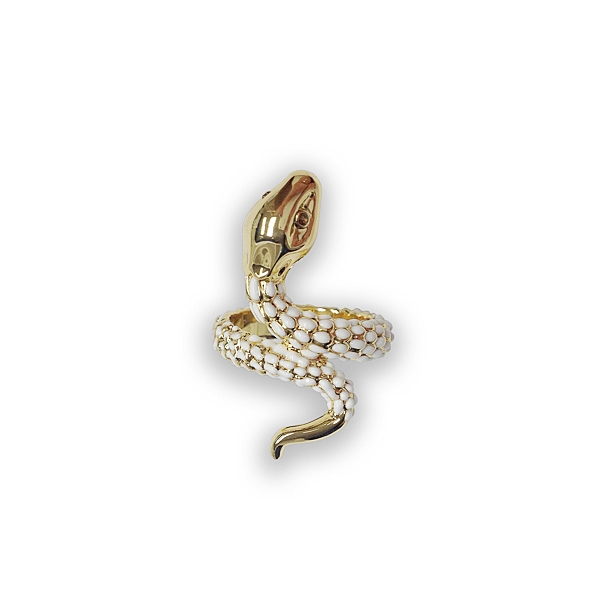 14K Gold Plated Snake Ring